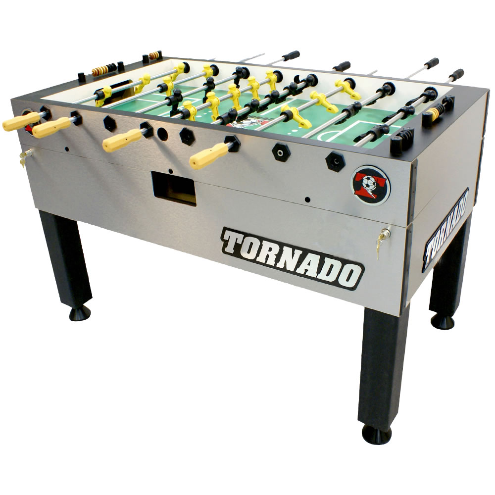 Tornado T 3000 Foosball Table With Single Goalie