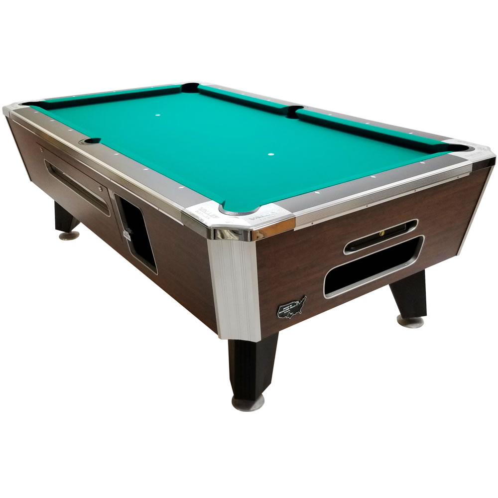 """Valley Panther ZD-11 88"""" Highland Maple Coin Op Pool Table"""