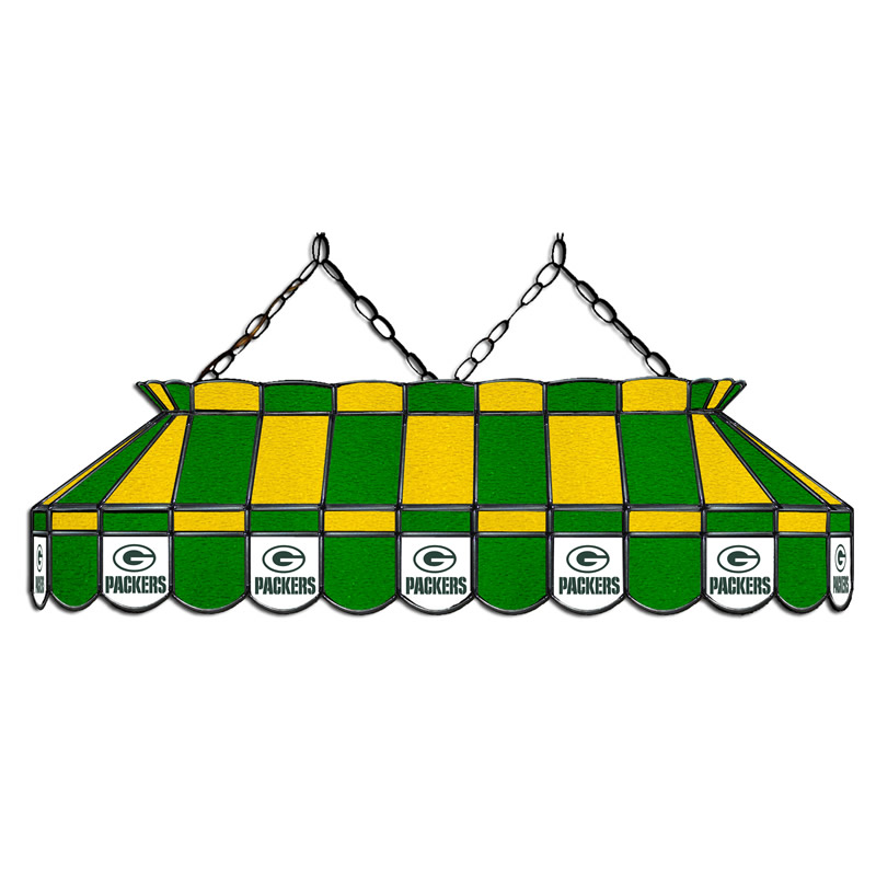 Green Bay Packers 40 Inch Glass Billiard Light