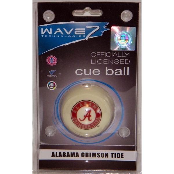 Alabama Crimson Tide Cue Ball