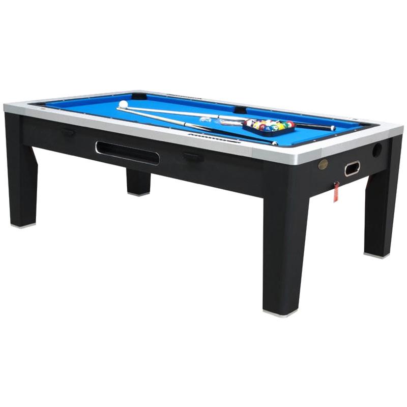 Berner 6n1 Multi Game Table Black
