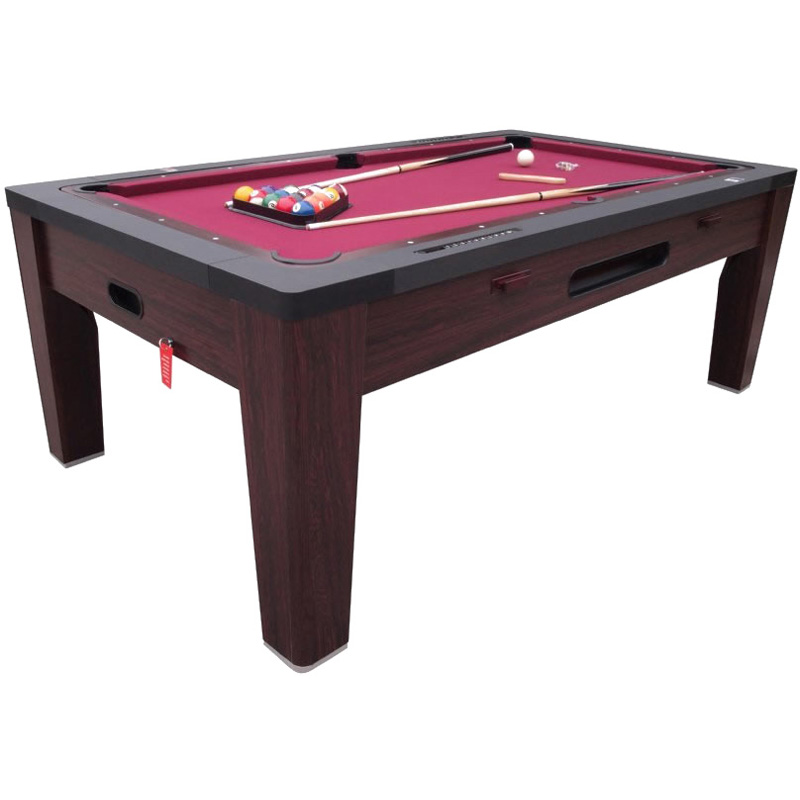 Berner 6n1 Multi Game Table Walnut