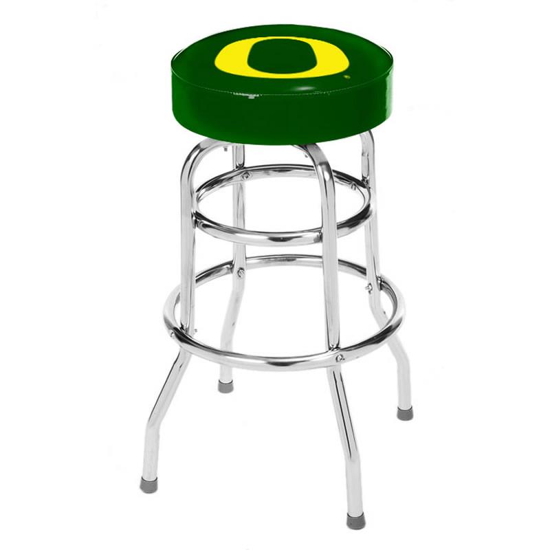 Miraculous Oregon Ducks Bar Stool Evergreenethics Interior Chair Design Evergreenethicsorg