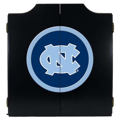 North Carolina Tar Heels Black Dart Cabinet