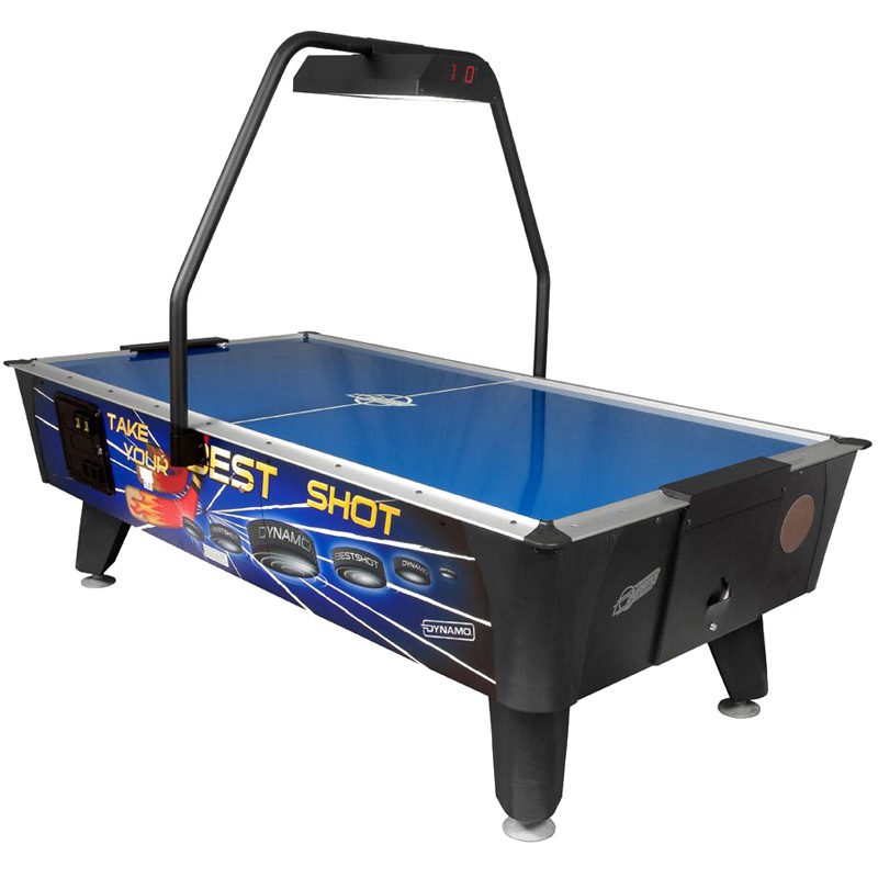 Dynamo Best Shot Coin Operated Air Hockey Table With