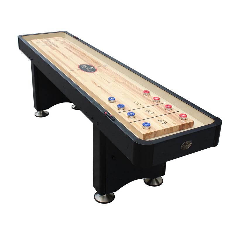Playcraft Woodbridge 9 Shuffleboard Table Black