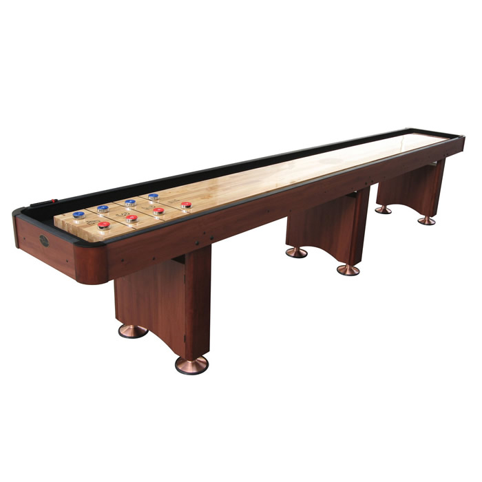 Playcraft Woodbridge 14 Shuffleboard Table Cherry