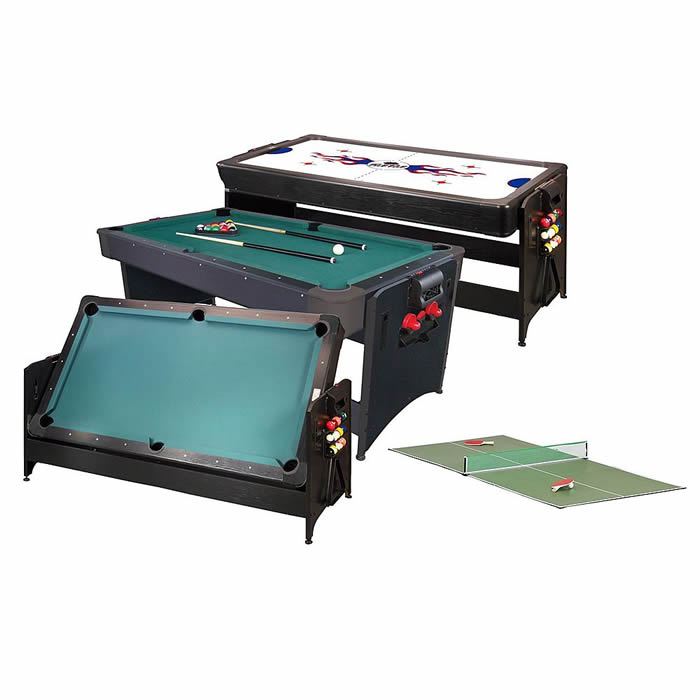 Fat Cat Pockey 3N1 Combination Air Hockey Pool Table