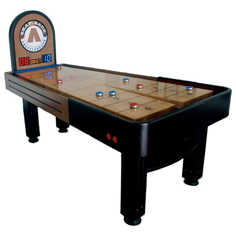 Snap-Back Summit Shuffleboard Table